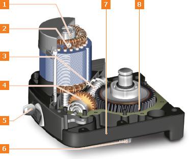 H23/282 привод рычажного типа конструкция